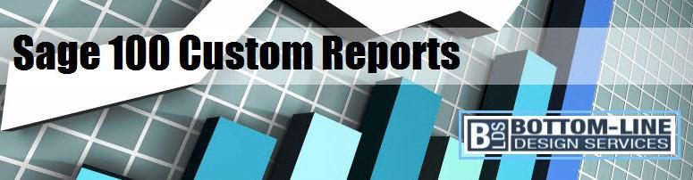 Sage 100 Custom Reports